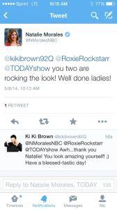 tweet TOday show