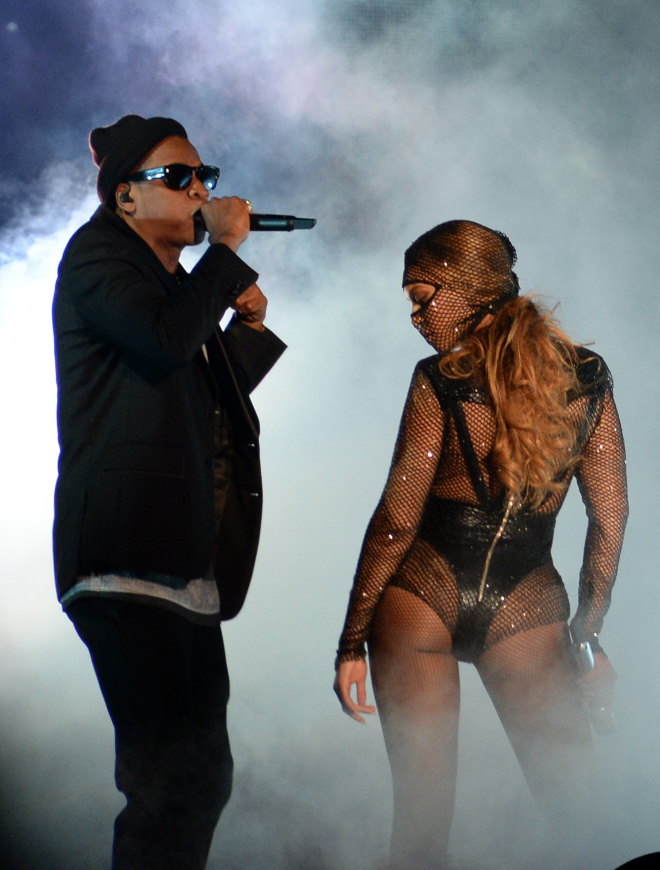 """Beyonce And Jay Z Take The Stage During The First Night Of Their """"On The Run"""" Tour In Miami"""
