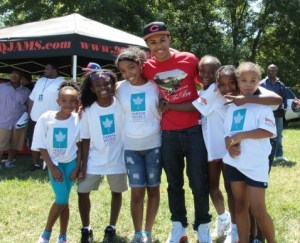 Diggy Simmons and Camp Crashers