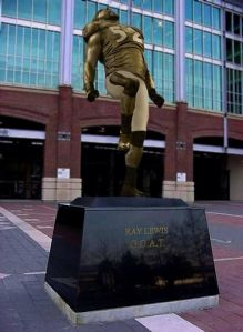 Ray Lewis statue