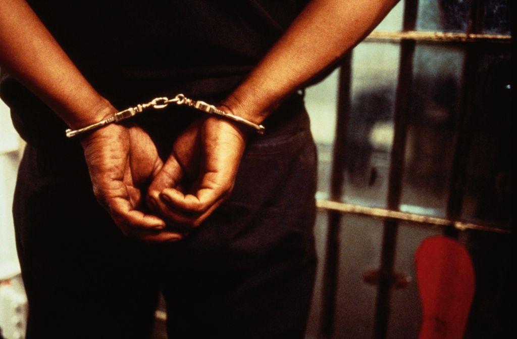 Handcuffed Prisoner