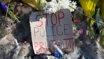 Family Of Tony Robinson Holds Press Conference At Site Of Police Fatal Shooting