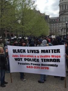 Freddie Gray Rally Baltimore