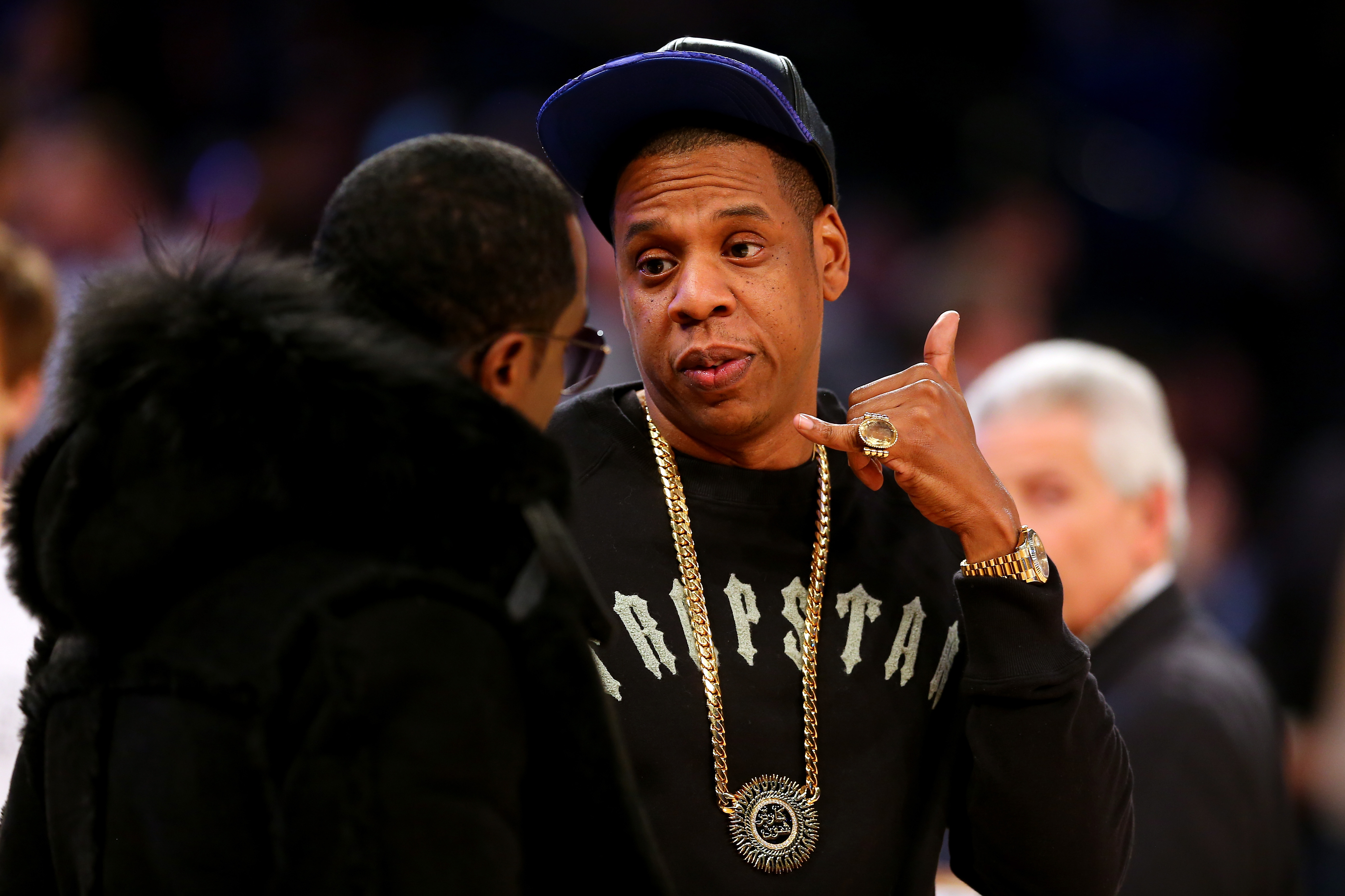 Jay Z, Diddy - NBA All-Star Game 2015