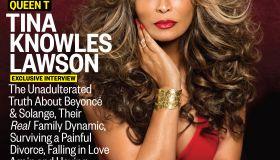 Tina Knowles Ebony Cover