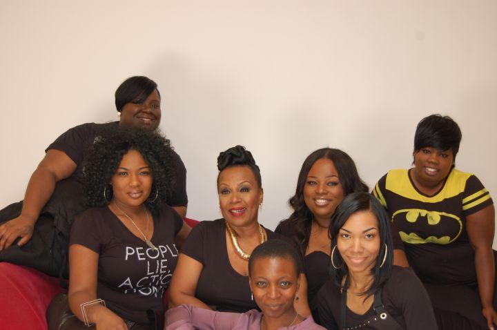 Mrs Vanessa and the Ja'Ya JStar Glam Team!