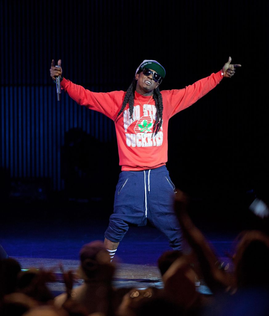 Lil Wayne With Rick Ross In Concert