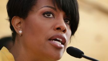 Local Leaders Address Residents On Streets Of Baltimore In Wake Of Major Unrest