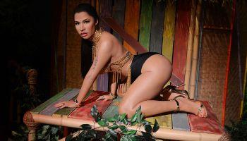 Madame Tussauds unveils the world's first Nicki Minaj Wax Figure In Las Vegas