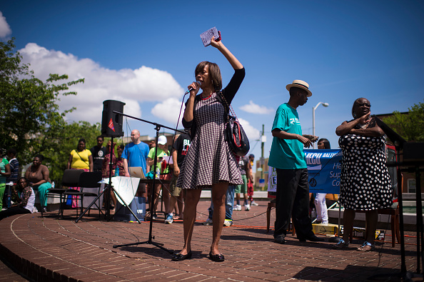 The 8th Annual Boundary Block Party in the West district of Baltimore.