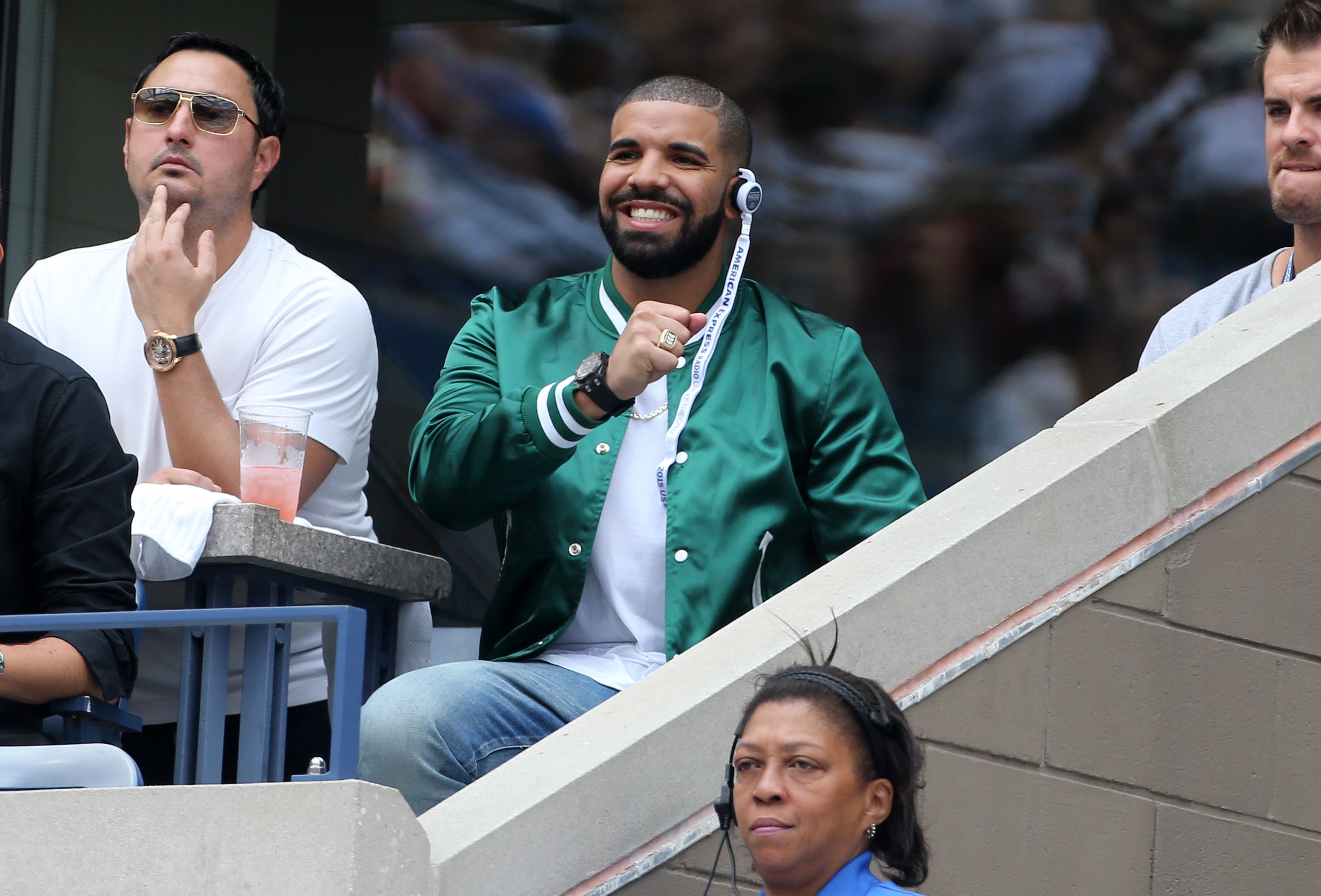 2015 US Open Celebrity Sightings - Day 12