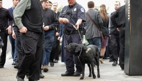 Security Remains Heightened In Washington Day After Bombings During Boston Marathon
