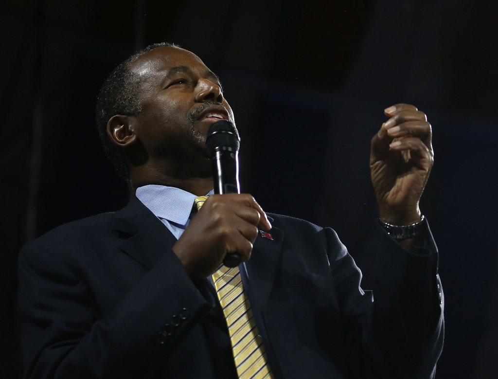 Ben Carson Delivers Remarks At Liberty University Convocation