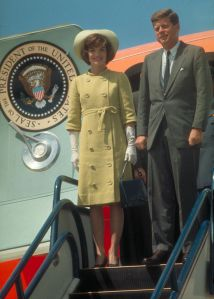 John F. Kennedy And Jacqueline Kennedy