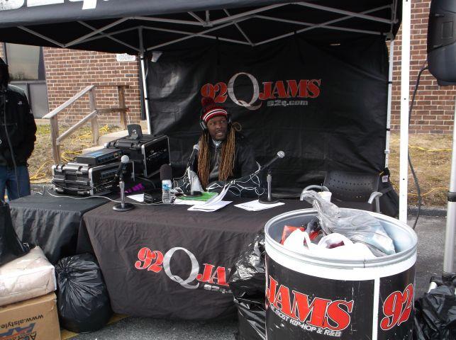 Radio One Baltimore Coat Drive