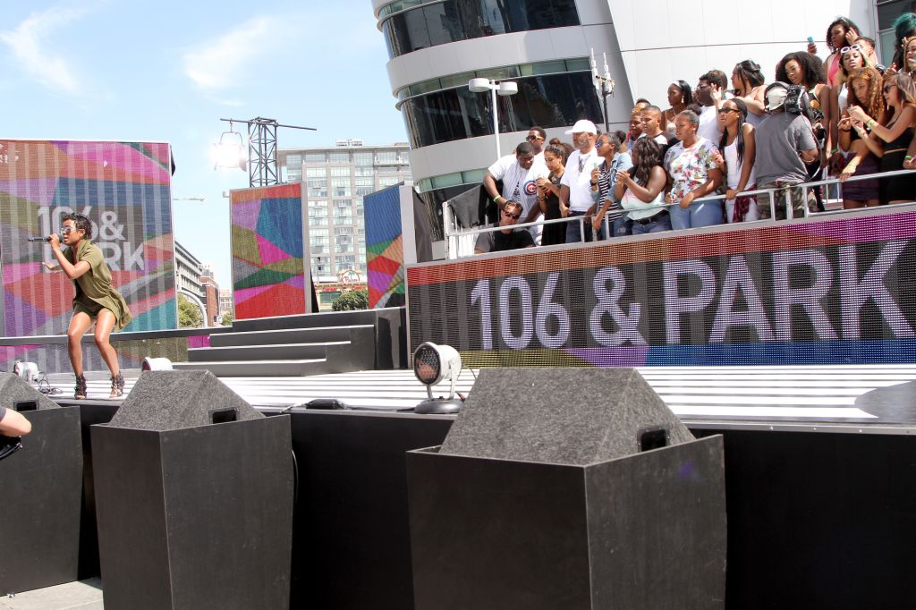 2015 BET Experience - 106 & Park With ESPN Cross Promotion Sports Center