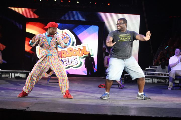 92Q Makes Guest Appearance in UniverSoul Circus