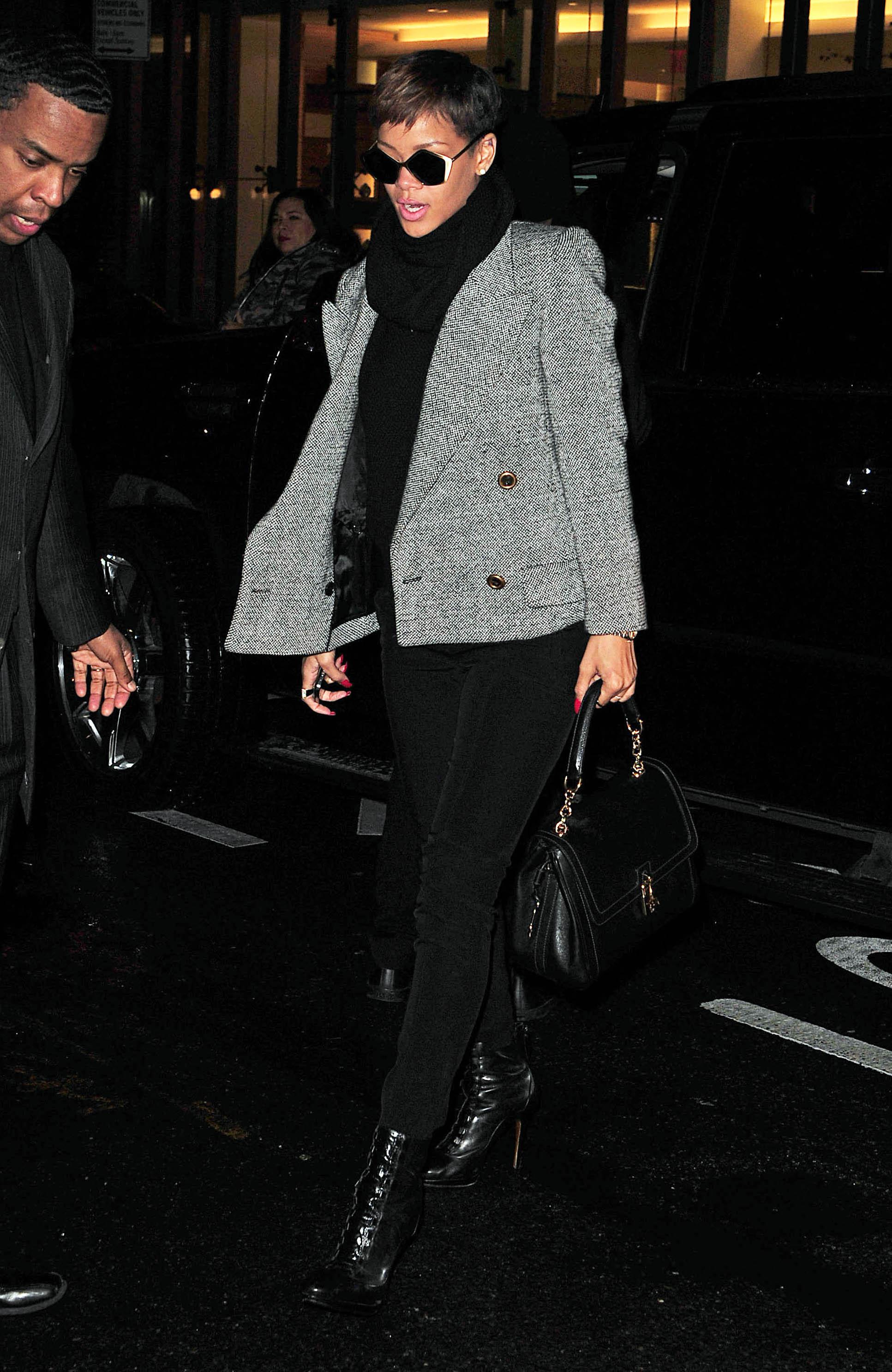 Celebrity Sightings In New York - January 29, 2013