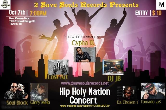 Hip Holy Nation Concert