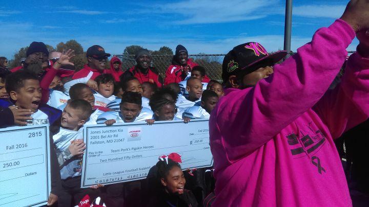 Pork's Pigskin Heroes Week 6 – Howard County Terps & Columbia Ravens