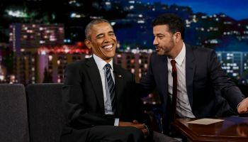 Jimmy Kimmel Live! Hosts President Obama