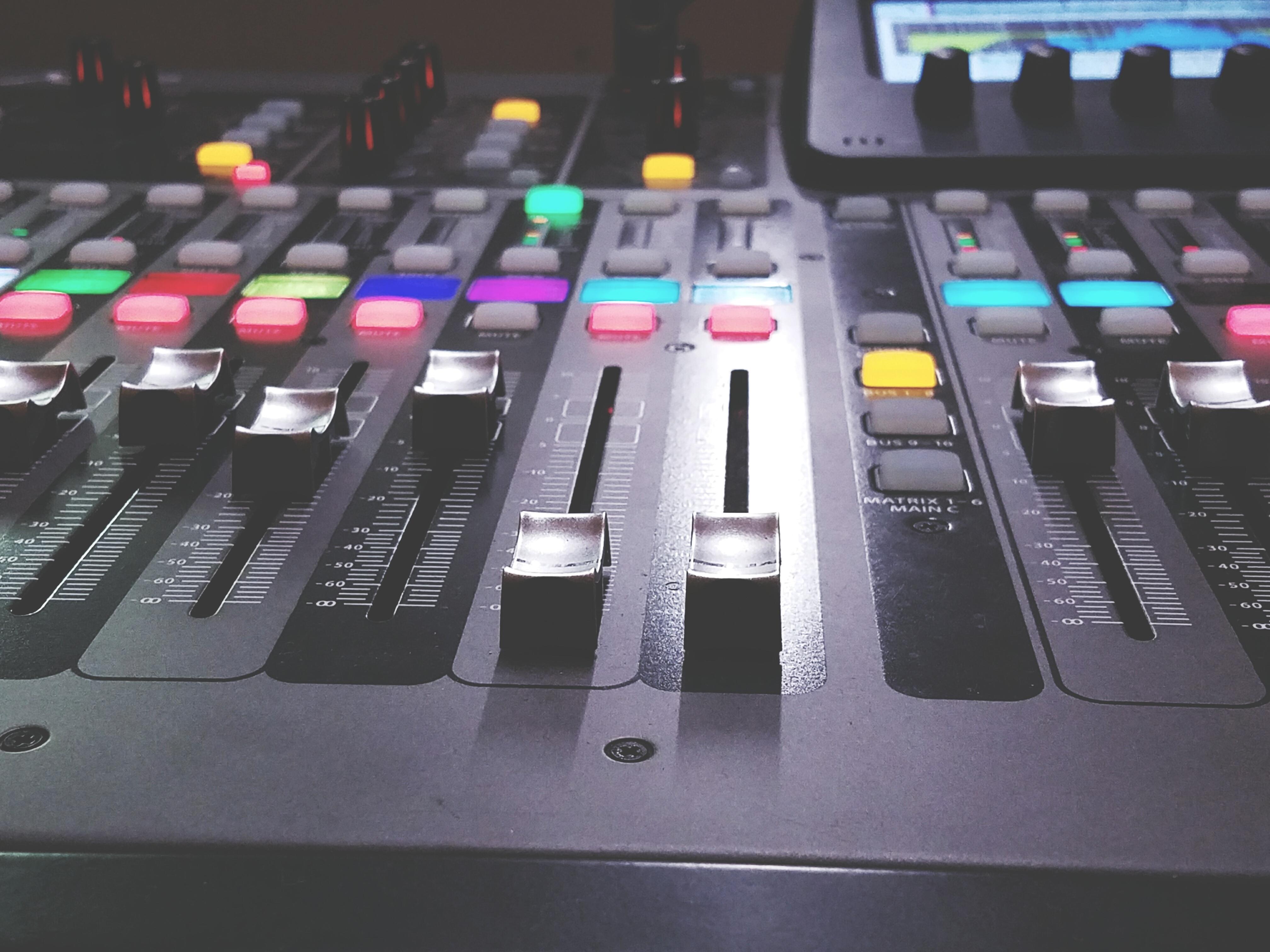Sound Recording Equipment