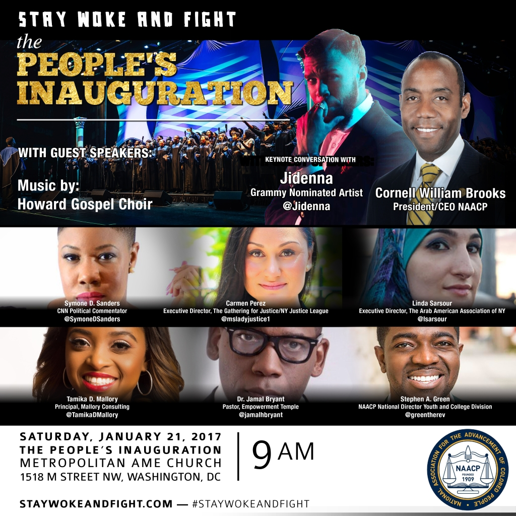 NAACP Youth to Rally before Women's March
