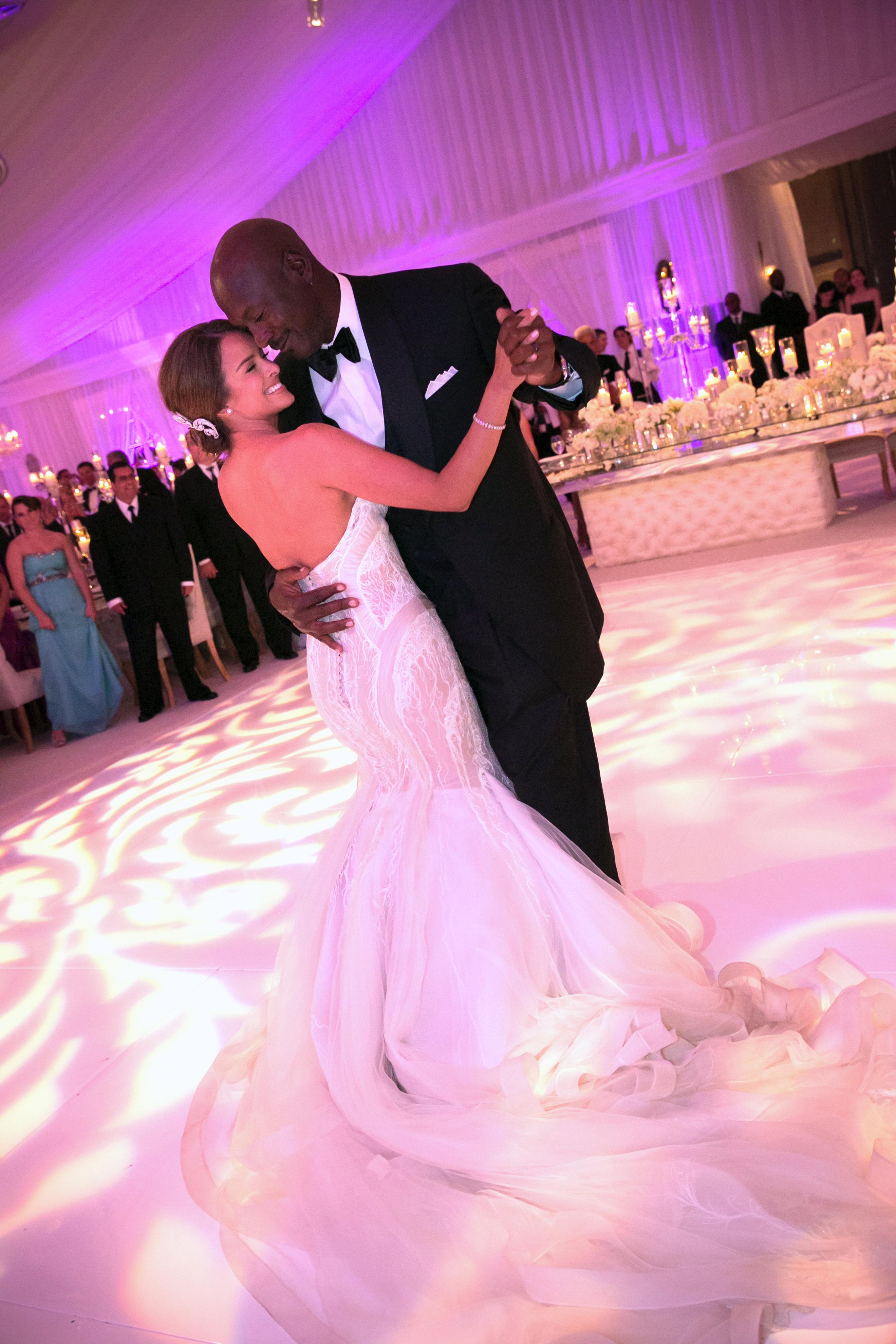 Michael Jordan Marries Yvette Prieto In Palm Beach