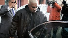Celebrity Sightings in New York City - February 12, 2017