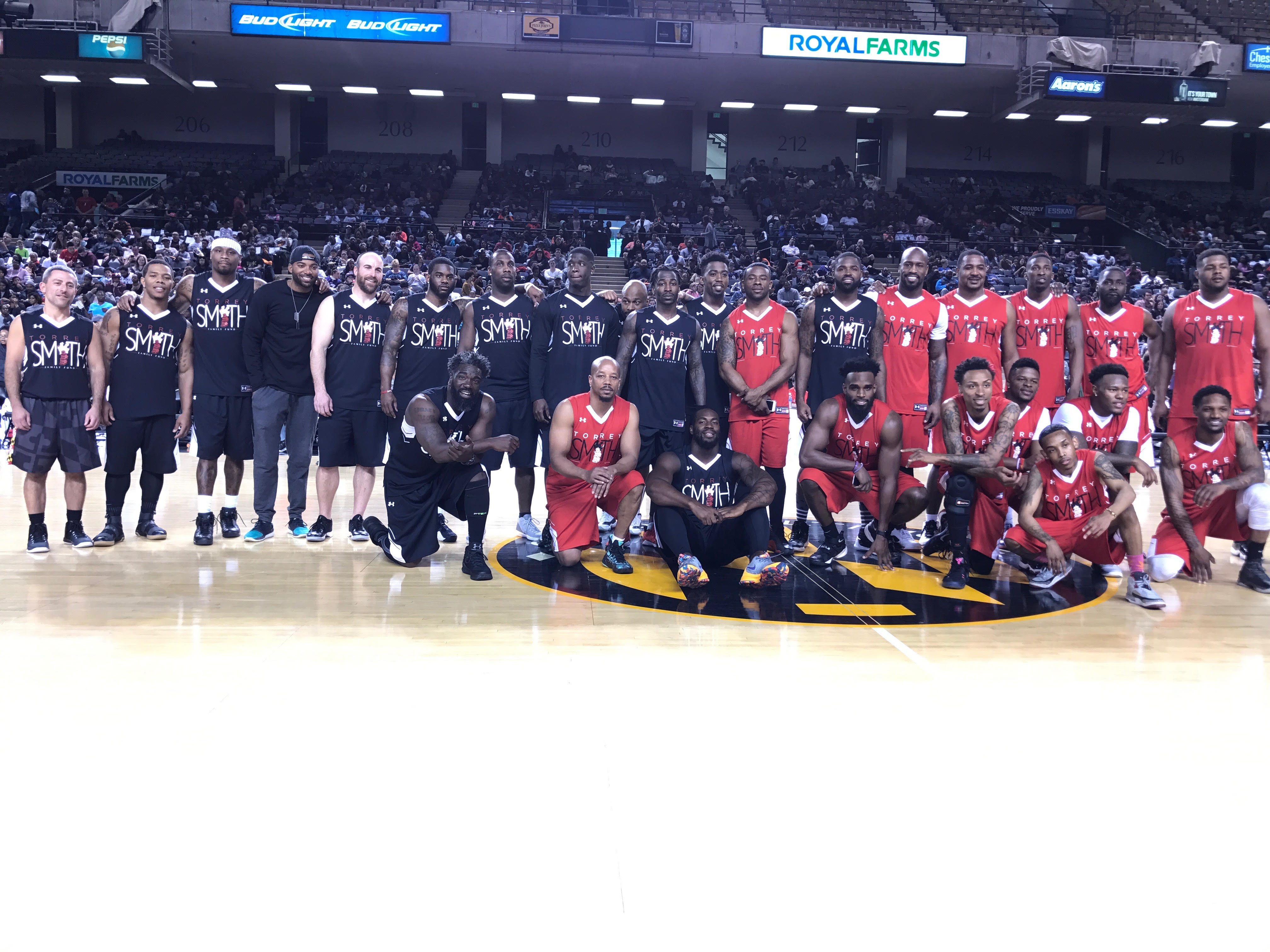 Torrey Smith Charity Basketball Game 2017