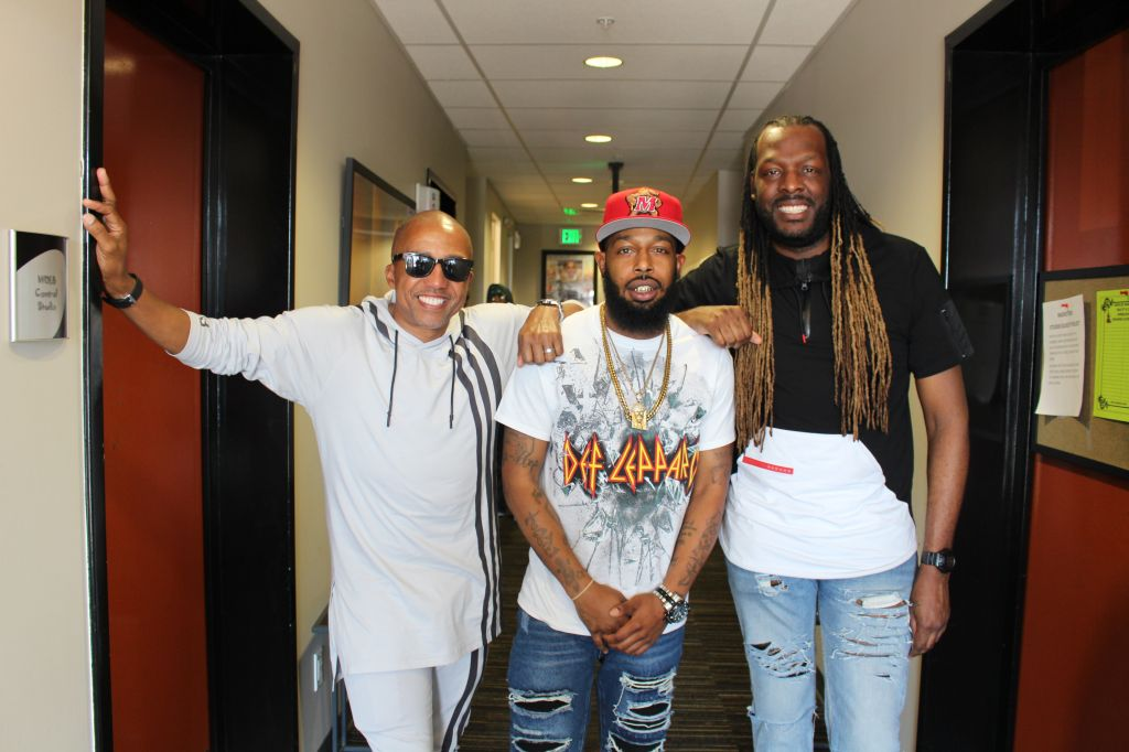 Tre Da Kid and Kevin Liles with Kelson