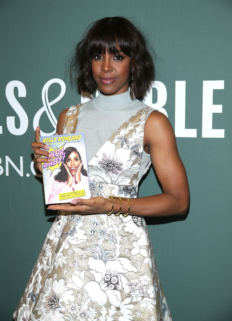 Kelly Rowland Signs Copies Of Her New Book 'Whoa, Baby!: A Guide For New Moms Who Feel Overwhelmed And Freaked Out'