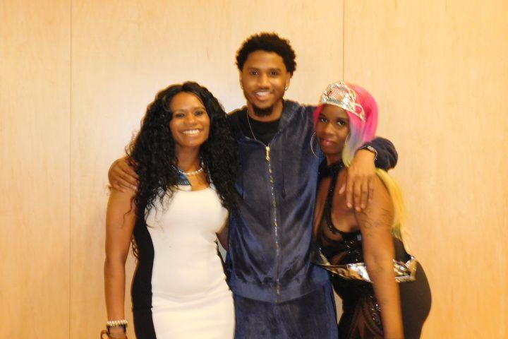 Trey Songz Meet & Greet In Baltimore