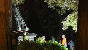 Roger Taney statue removed from Maryland State House grounds overnight