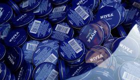 NIVEA Celebrates National PDA Day In New York City's Herald Square