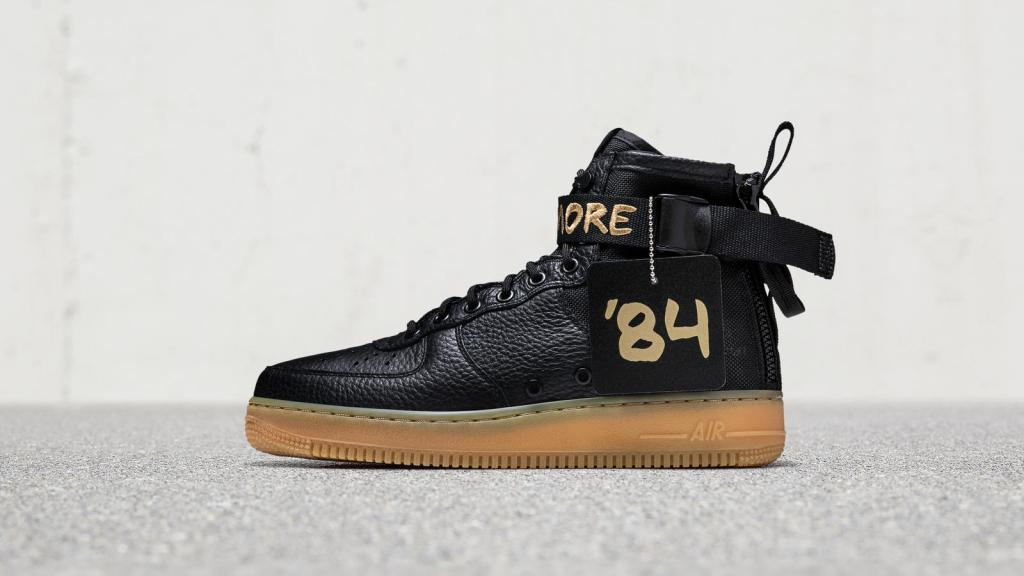 "NIKE AIR FORCE 1 MID ""FOR BALTIMORE"""
