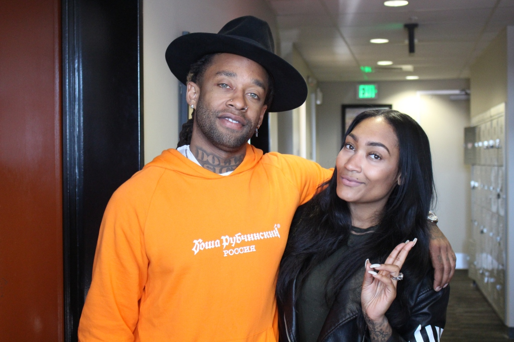 Ty Dolla Sign & Persia at 92Q