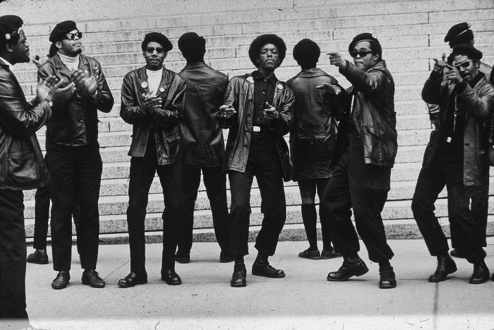 Demonstration by The Black Panthers