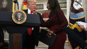 President Trump Attends Minority Enterprise Development Week Awards Ceremony At The White House