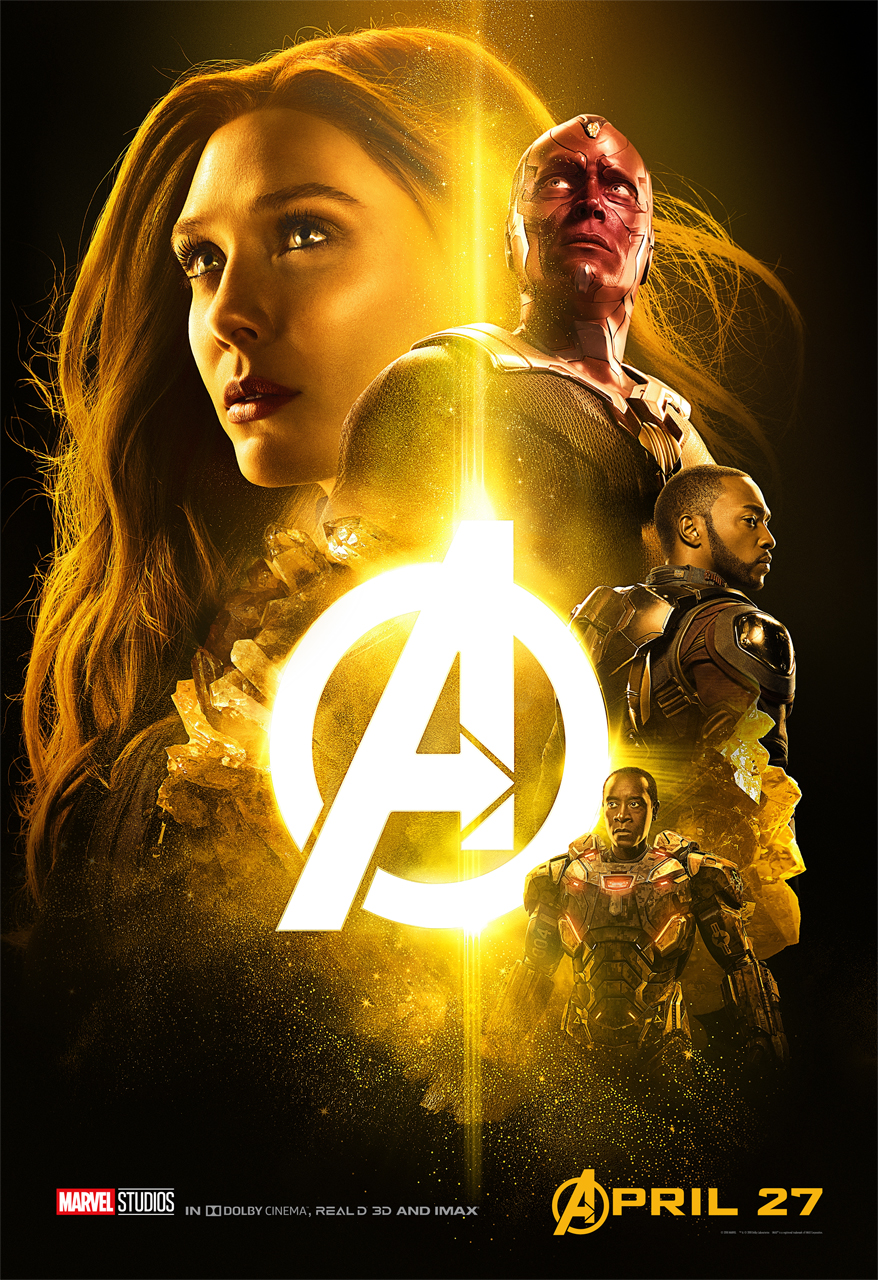 AVENGERS: INFINITY WAR Character Group Posters Scarlet Witch