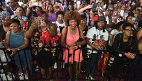 ALMOST CHRISTMAS Cast Members Kimberly Elise, Jessie T. Usher, Keri Hilson & Filmmakers At The 2016 Essence Festival