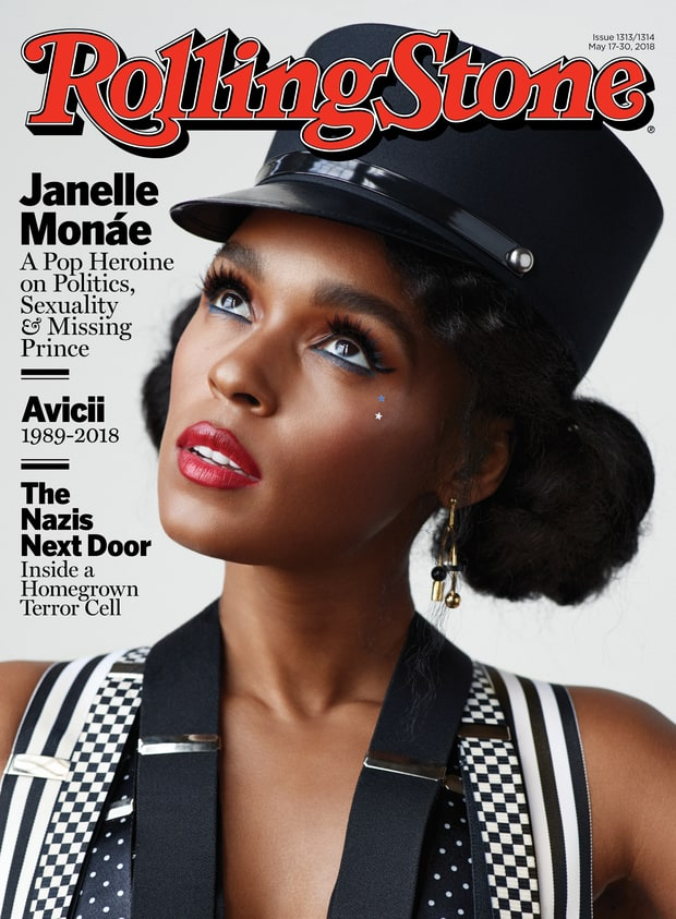 Janelle Monae Rolling Stone Cover