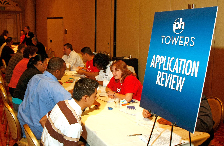 New Las Vegas Resort Complex Holds Job Fair