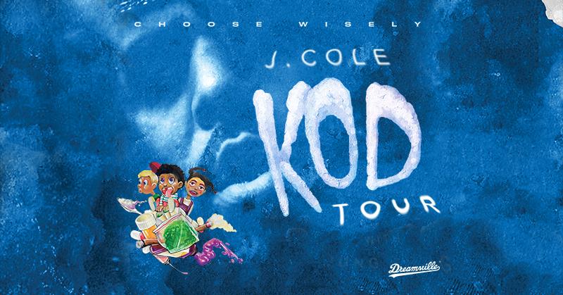 J Cole KOD Tour