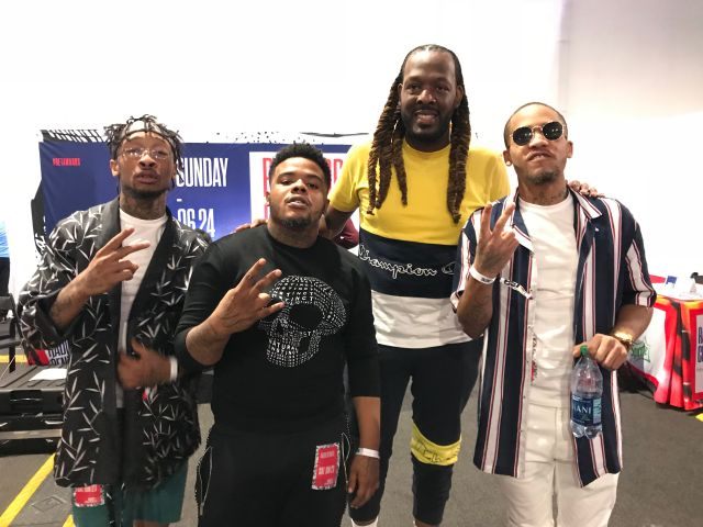 BET Awards 2018 Radio Room Day 2