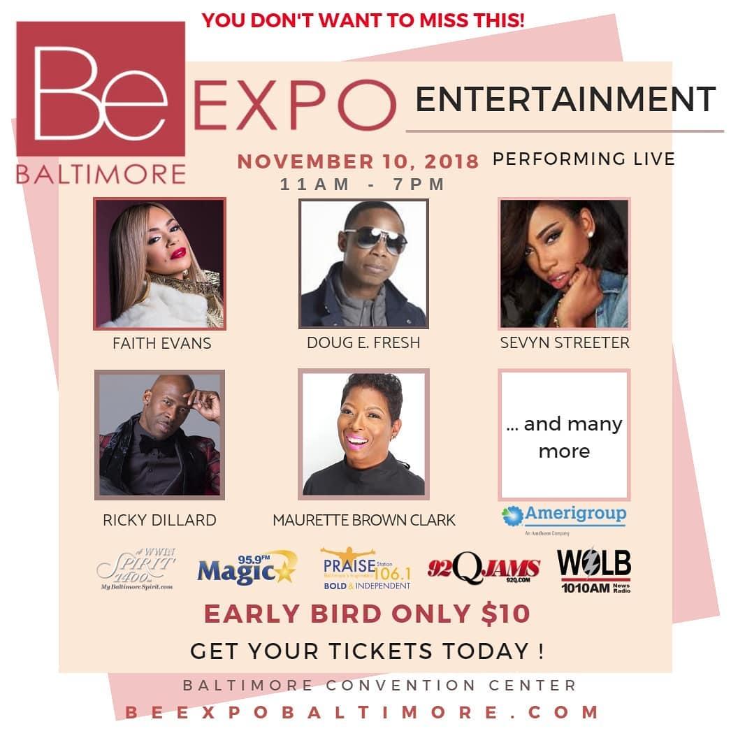 BE expo social media graphics