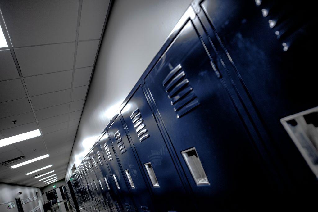 Lockers in School
