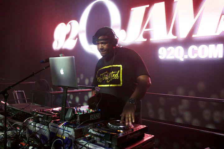 DJ Twisted at 92Q WinterFest