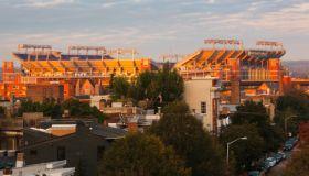 Stadium in a city, M&T Bank Stadium, Baltimore, Maryland, USA