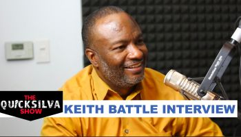 Pastor Keith Battle at The QuickSilva Show